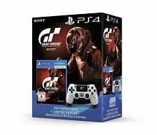 Ps4 gioco Gran Turismo Sport + PLAYSTATION 4 WIRELESS DUALSHOCK CONTROLLER NUOVO