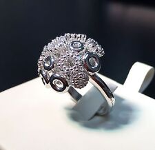 Salvini 18 kt White Gold Ring with Diamonds New! Final Sale !!!!!!! MSRP $ 7,995