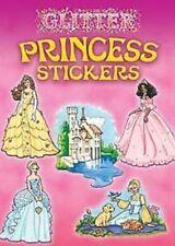 Dover Set of 2 Princess Mini Books - Storybook & Glitter Sticker Princess Books