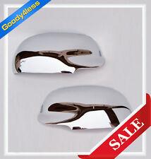 For 02-09 Trailblazer Gmc Envoy Buick Rainier Ascender Chrome Door Mirror Covers (Fits: Isuzu)