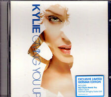 MAXI CD 2T + VIDEO KYLIE MINOGUE GIVING YOU UP LIMITED GERMAN EDITION