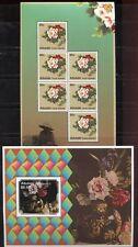 Aitutaki 2011 Pfingstrosen Peonies Blumen Flowers 818 KB Block 89 MNH