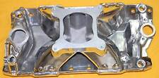 SBC Small Block CHEVY SINGLE PLANE RACE ALUMINUM INTAKE MANIFOLD 3000 - 7500RPM