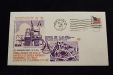 SPACE COVER 1980 SPACE SHUTTLE CLUSTER FIRINGS FINAL SERIES TEST ABORTED (5284)