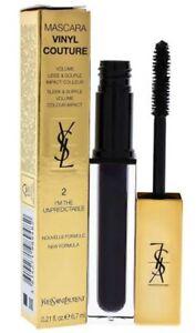 New Yves Saint Lauren YSL Vinyl Couture Mascara 6.7ml 02 I'm The Unpredictable