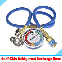 Car Air Conditioner R134a Refrigerant Recharge Hose Gas Can Fitting Pipe 800 PSI
