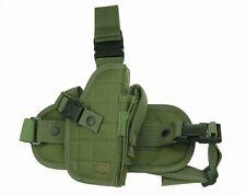 OD Green Tactical Right Handed Drop Leg Gun Holster BB Air Handgun Pistol 207GR