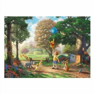 Winnie the Pooh Jigsaw Puzzle Special Art Collection Thomas Kinkade Japan 0818N
