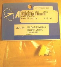 AIRTRONICS FM Dual Conversion Receiver Crystal 72.890 Mhz Ch 55 NEW 93013-55