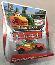 2013 Disney Pixar CARS 2: RIP CLUTCHGONESKI W/ (Gold) METALLIC FINISH Kmart