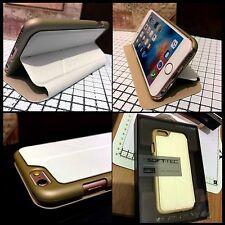 Soft.Tec Element Wallet Case Rigid Tech Grip  Rugged White Apple iPhone 6 Plus