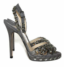 Jimmy Choo Suede Strappy, Ankle Straps Heels for Women