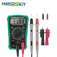 Probador de Corriente Digital Voltimetro Amperimetro Ohmimetro Multimetro AC DC