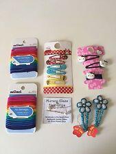 Hello Kitty, Disney, Murano Glass, Scunci 12 hairclips & 37 hairbands