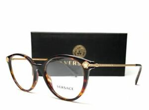 Versace VE3251B 108 Havana Women's Eyeglasses 52 mm