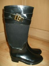TED BAKER Boots, Wellingtons, Wellies, Black, size 3 (UK)