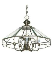 Nuvo Lighting 60//3196 Empire 9-Light Two Tier Chandelier with Alabaster Glass Shade Brushed Nickel