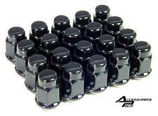 20 Pc BLACK CUSTOM WHEEL LUG NUTS SCION TC / XB / XD AP #1907BK