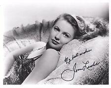 Joan Leslie Hand Signed 8x10 Photo+Coa Beautiful Hollywood Legend