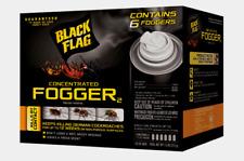 Black Flag CONCENTRATED FOGGER 6 pk 1.25 oz Kills By Contact No Residue HG-11079