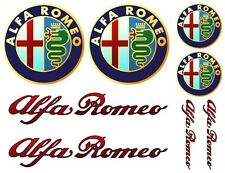 Alfa Romeo Decal Set