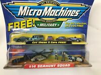 The Original Micro Machines Scale Miniatures Military #14 Seahunt Squad NEW