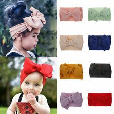 Baby Kleinkind Mädchen Kinder Häschen Schleife Knoten Turban Kopfband Haarband