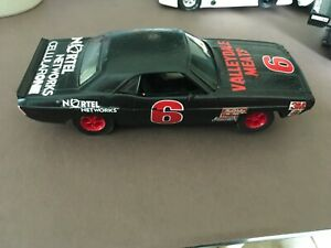 Hornby Slot car, 1:32 scale, Dodge Challenger, customized paint sponser #6