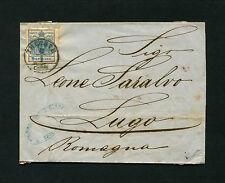 """Österreich - """"Trieste-Abends"""" Brief von 1858     (#671)"""