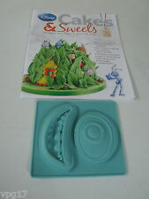EAGLEMOSS DISNEY CAKES & SWEETS MIKE  WAZOWSKI SILICONE  MOULD   No 71  NEW