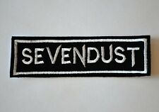 Sevendust Embroidered Iron-On Punk Rock Rare Patch Badge
