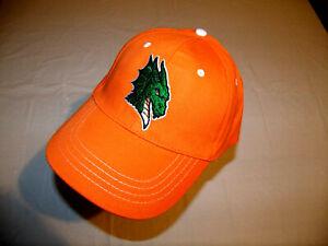 Dayton Dragons Orange Hat Dragon Logo Adult Adjustable Strap MiLB Cincinnati NEW