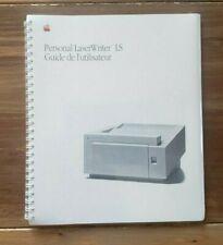 🍎 NEUF sous blister ! Manuel imprimante FR Laser Writer LS Vintage Apple MAC