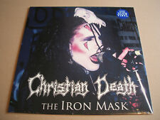 Christian Death - The Iron Mask Vinyl LP Album Limited Edition Reissue Blue
