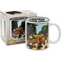 The Beatles Abbey Road Mug. Lego Parody Coffee Tea Cup Funny Gift Idea for fan