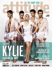 ATTITUDE GAY,Kylie Minogue,Antony Cotton,Giles Coren,Kelly Rowland,Stuart Price