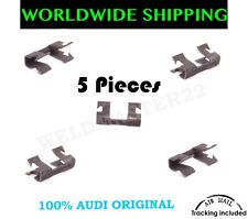 AUDI A3 A4 A6 VW Q7 TT HOOD LATCH RELEASE CABLE RETAINING CLIPS 5 Pieces GENUINE