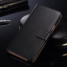 Luxury Genuine Leather Flip Case Wallet Cover For Samsung Galaxy Express 2 G3815