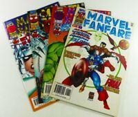 Marvel Comics MARVEL FANFARE (1996) #1 2 3 5 Lot VF to VF/NM Ships FREE!