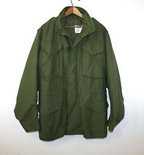 Alpha Industries M65 Coat Cold Weather Field Jacket Vintage 1971 M-65 Small Long