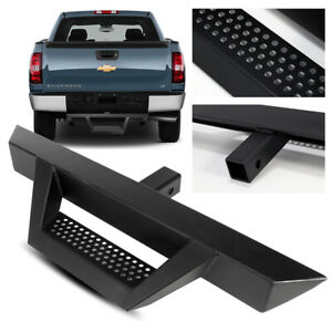 "31"" Long/3"" Tube Black Rear Bumper Hitch Step for Truck/SUV/Pickup 2"" Receiver"