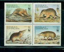 Dominican Republic 1994 WWF block #1158 VFMNH CV $9.00