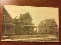 Vintage 1910 Toledo Ohio Postcard Homestead