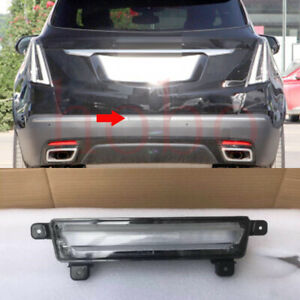 1Pcs For Cadillac XT5 2017-2021 Rear Bumper Middle TailLight Lamp Cover Trim