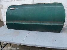 1977 THUNDERBIRD  RIGHT DOOR SHELL USED GREEN ORIG FORD 1978 1979