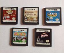 Nintendo DS 6 Game Lot Including My Pet Shop,Zac & Cody, Professor Layton