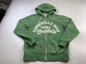 Roots Of Fight James Braddock Cinderella man Hoodie sweatshirt size large
