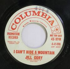 50'S & 60'S 45 Jull Cory - I Can'T Hide A Mountain / Seems Like Old Times On Col