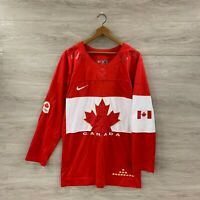 Team Canada IIHF Nike National Olympic Hockey Jersey Size Medium