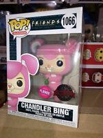 Flocked Chandler as Bunny Friends Funko Pop Vinyl New in Box